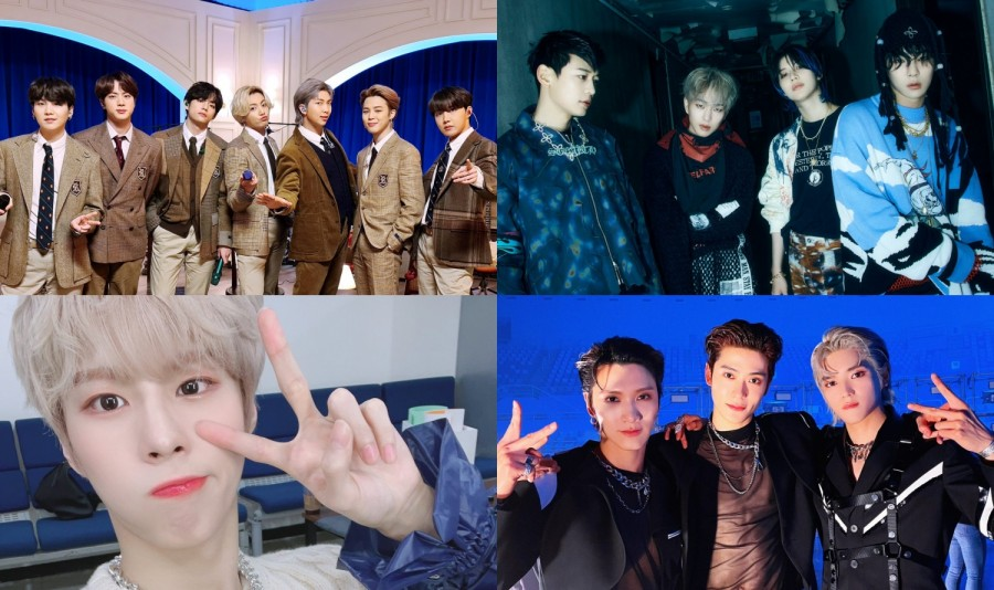 韓國男偶像2月專輯累計銷量排行TOP10,來看看上榜的有哪些愛豆