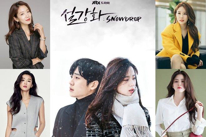 JTBC新劇《雪滴花》的停拍請願接近10萬人