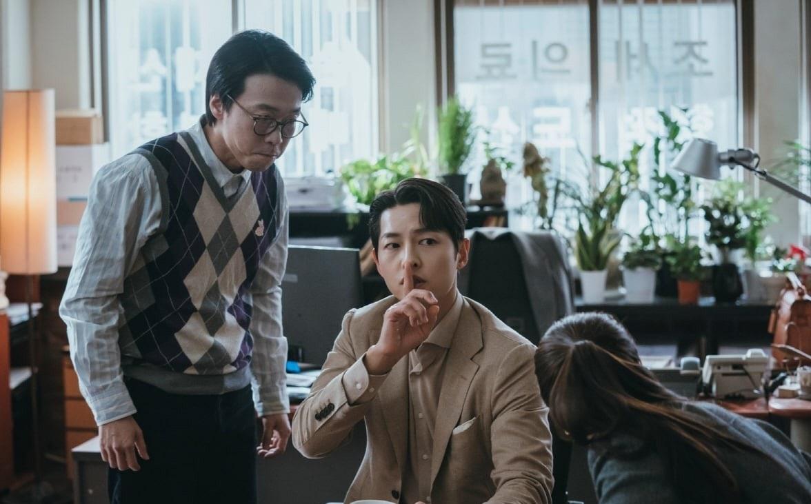 宋仲基全汝彬和玉澤演在《黑道律師文森佐》大結局前對觀眾的感激之情