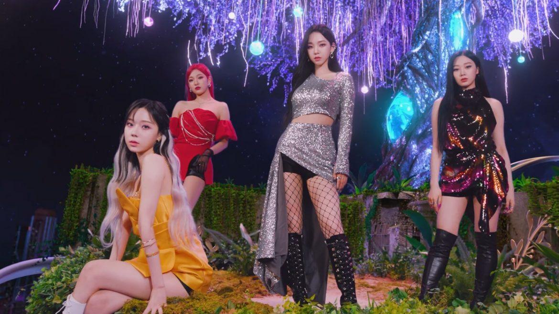 "[aespa][新聞]210729 aespa·Brave Girls…2021""夏季女王""競爭,誰領先?"