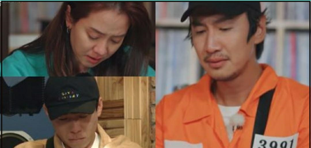 李光洙最後一期《RM》,惹哭老搭檔宋智孝,衣服上的3991有故事