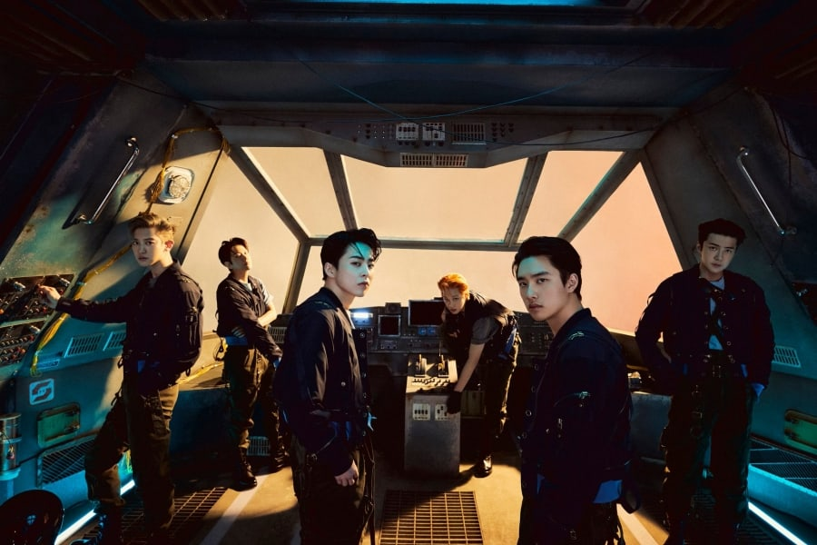 [EXO][新聞]210618 EXO憑藉《Don't fight the feeling》獲得本週《音樂銀行》一位!