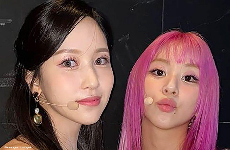 """TWICE Mina&彩瑛時隔一年的""""南瑛""""合照,令粉絲們大興奮!"""