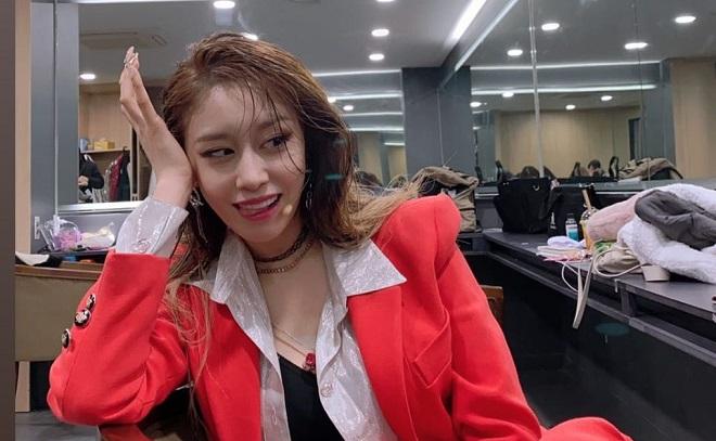 """T-ara朴芝妍公開近況,上演""""濕髮""""誘惑"""