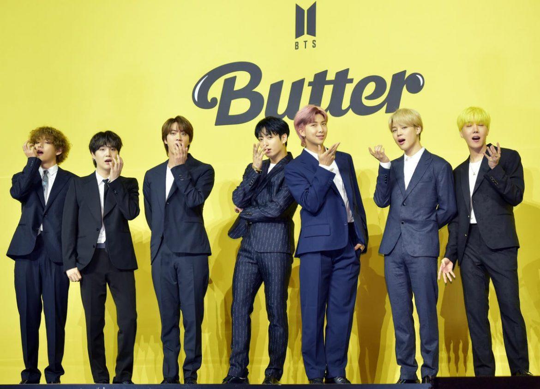 """防彈少年團《Butter》重奪美國公告牌""""HOT 100""""第一名"""