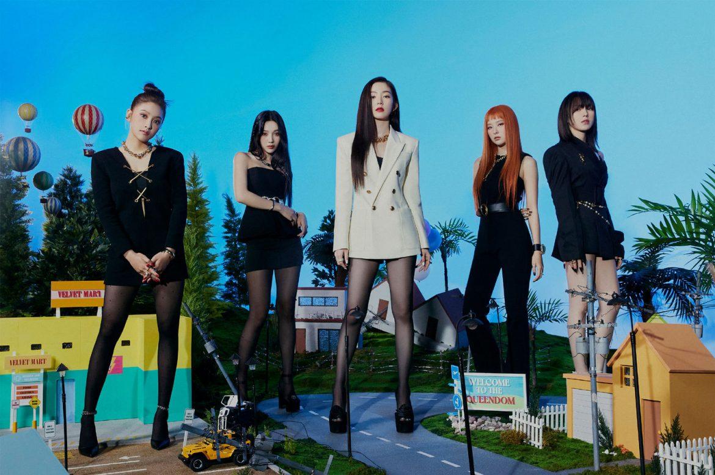 [Red Velvet][新聞]210911 《音樂中心》Red Velvet再次奪得一位,沒有出演也能正常奔跑