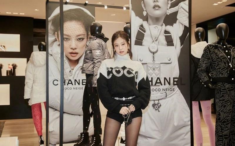 BLACKPINE Jennie訪問香奈兒COCO NEIGE旗艦店公開照